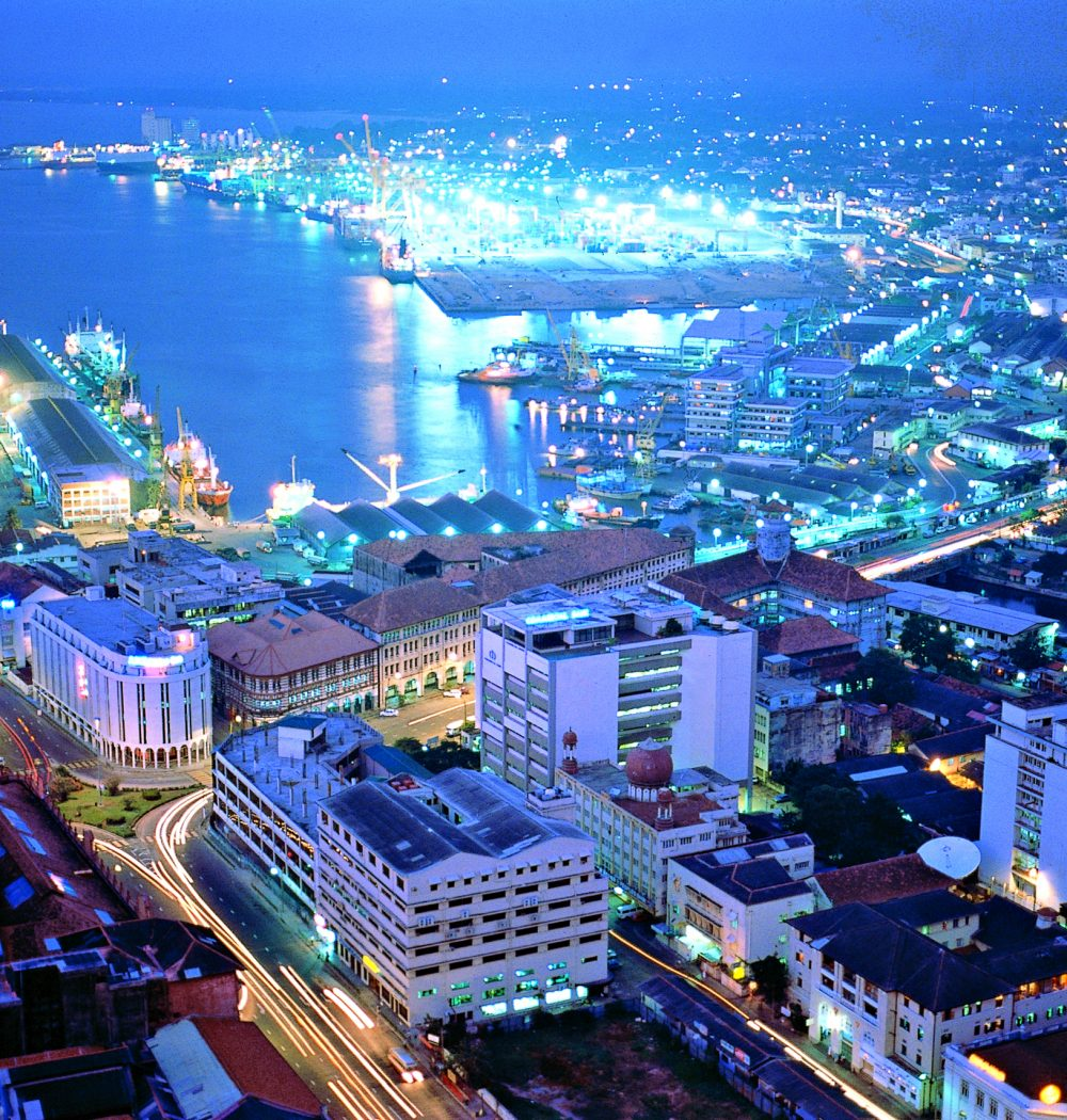 Colombo Harbour at Night